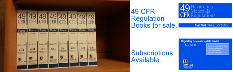 49 CFR Regualation Books and Subscriptions:
